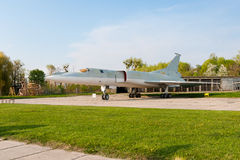 Flugzeug des Tupolevs Tu-22 stockfotografie
