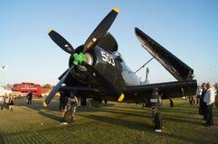 Flugzeug Douglas-Skyraider Lizenzfreies Stockfoto