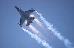 Flugzeug F-16 Stockfoto