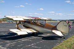 Flugzeug am Festival stockbild