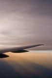 Flugzeug-Flügel lizenzfreie stockfotografie