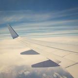 Flugzeug-Flügel Lizenzfreies Stockbild