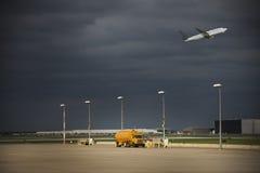 Flugzeug/Flughafen stockfoto