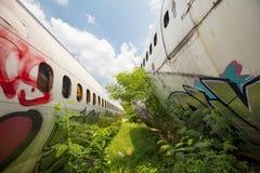 Flugzeug-Friedhof Bangkok Lizenzfreie Stockfotografie