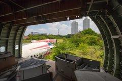 Flugzeug-Friedhof Bangkok Lizenzfreie Stockfotos