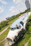 Flugzeug-Friedhof Bangkok Lizenzfreies Stockfoto