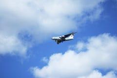 Flugzeug. IL-76 Stockfoto
