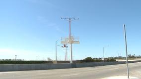 Flugzeug-Landung stock video