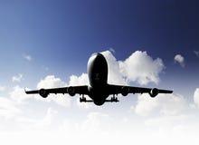 Flugzeug-Landung Lizenzfreie Stockbilder
