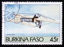 Flugzeug Louis Bleriot Stockfoto
