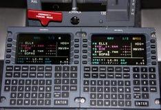 Flugzeug-Navigation stockfoto