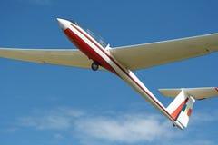 Flugzeug ohne Motor Stockfotografie