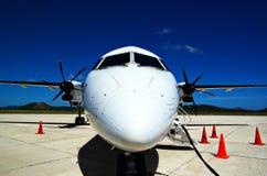 Flugzeug-Portrait Stockfotos