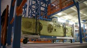 Flugzeug-Produktions-Fabrik Lizenzfreie Stockbilder