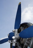Flugzeug-Propeller Stockbild