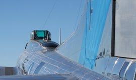 Flugzeug-Reflexionen stockfotos