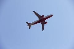 Flugzeug-Reise-/Reise auf dem Luftweg Stockfotos