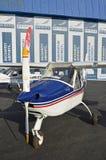 Flugzeug Rumänien Lizenzfreies Stockfoto