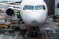 Flugzeug Singapore Airliness Boeing stockfoto