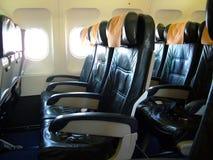 Flugzeug-Sitze Stockbild