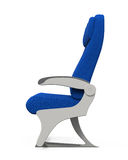 Flugzeug-Sitze lokalisiert Lizenzfreies Stockfoto