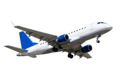 Flugzeug-Start stockfotografie