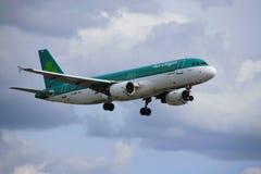 Flugzeug von Aer Lingus lizenzfreie stockfotografie