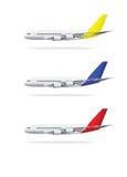 Flugzeugabbildung Stockbilder