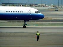 Flugzeugabflug -2 Lizenzfreie Stockfotos