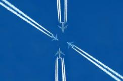 Flugzeuge Stockbild