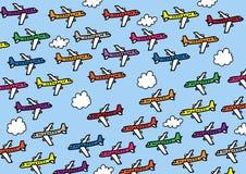 flugzeuge stock abbildung