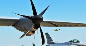 Flugzeuge Stockfotos
