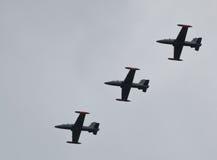 Flugzeuge Aermacchi mb339 Stockbilder