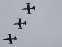 Flugzeuge Aermacchi mb339 Stockfotografie