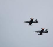 Flugzeuge Aermacchi mb339 Lizenzfreies Stockbild