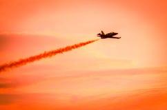 Flugzeuge auf airshow Lizenzfreie Stockfotografie