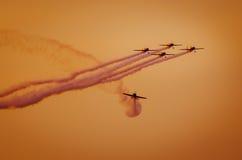 Flugzeuge auf airshow Stockfoto