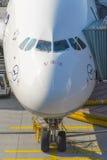 Flugzeuge bereit zum Verschalen Stockfotos