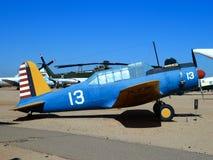 Flugzeuge in der Luft und dem Raum Pima stockfoto