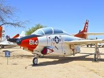 Flugzeuge in der Pima Luft und dem Platz Lizenzfreies Stockbild