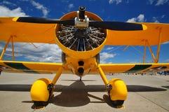 Flugzeuge an einem airshow lizenzfreie stockfotografie