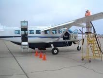 Flugzeuge für Rundflüge über den Nazca-Linien Lizenzfreie Stockbilder