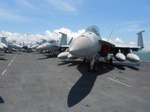Flugzeuge F-18 Lizenzfreie Stockfotografie