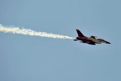 Flugzeuge F-16 Lizenzfreie Stockbilder