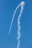 Flugzeuge GP-Flugzeug-Fliegen-Rennakrobatik Stockbild