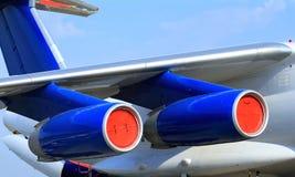 Flugzeuge IL 76 Lizenzfreie Stockbilder