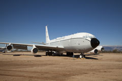 Flugzeuge an Luft und an Weltraummuseum Pima Stockfotos