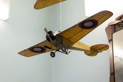Flugzeuge modellieren im zentralen Haus von Luftfahrt und von Astronautik stockfotografie