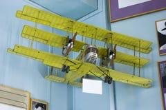 Flugzeuge modellieren im zentralen Haus von Luftfahrt und von Astronautik lizenzfreie stockfotografie