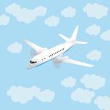 Flugzeuge und Himmel Lizenzfreies Stockfoto